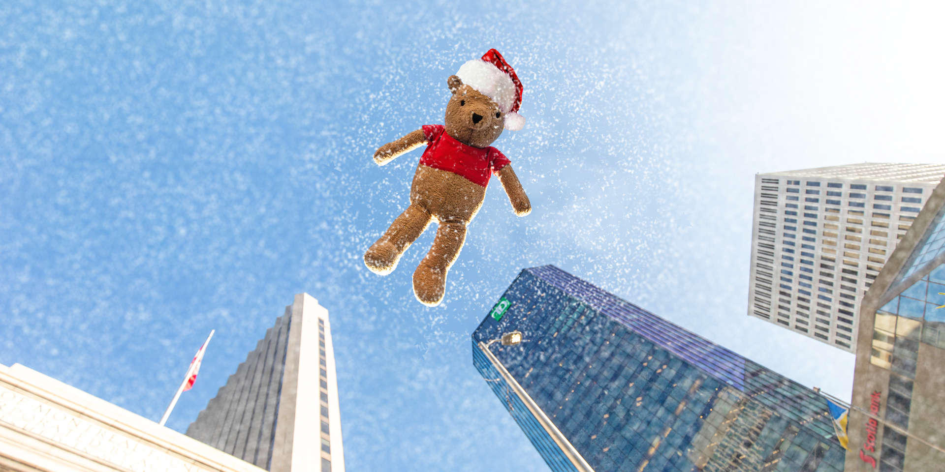 Pooh at Santa Claus Parade