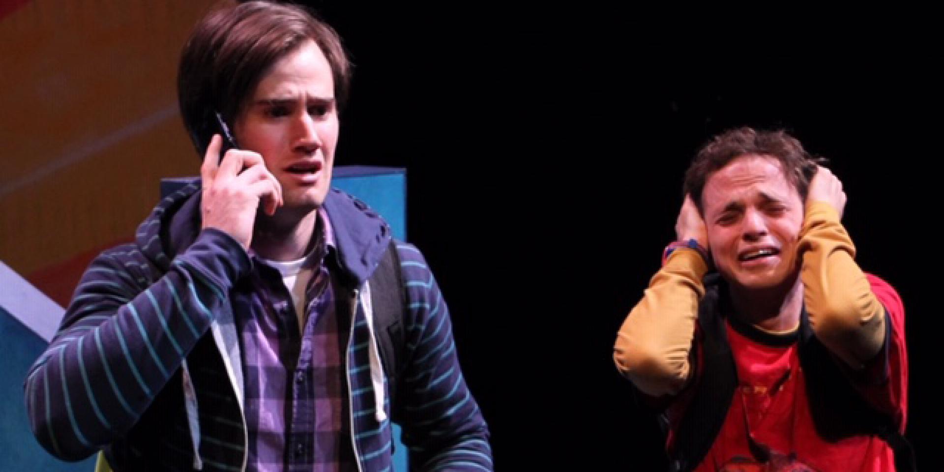 Ryan Bondy & Aaron Stern in Spelling 2-5-5.