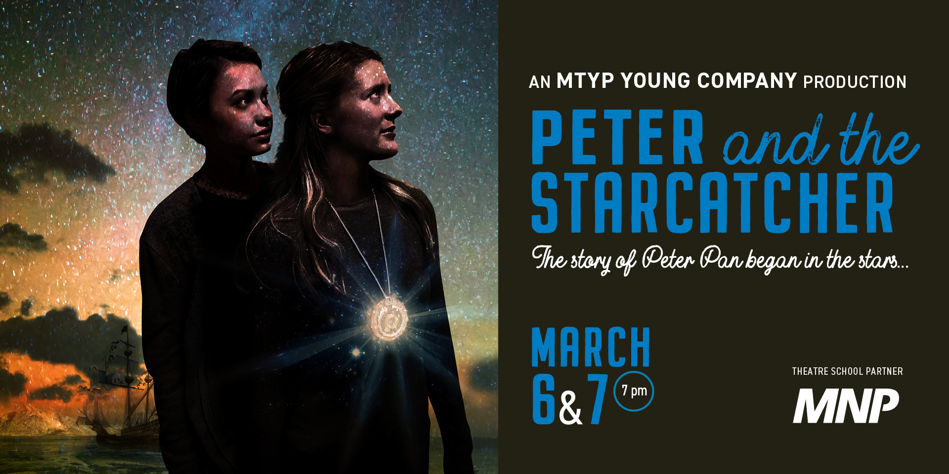 MTYP Young Company presents Peter and the Starcatcher