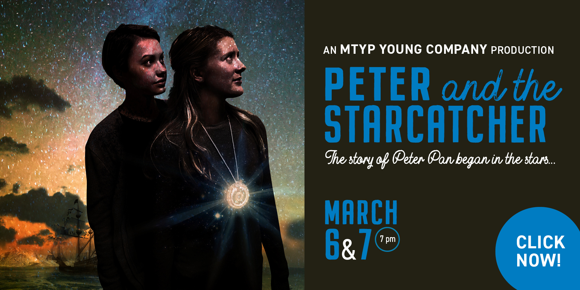 MTYP Young Company presents Peter and the Starcatcher - click
