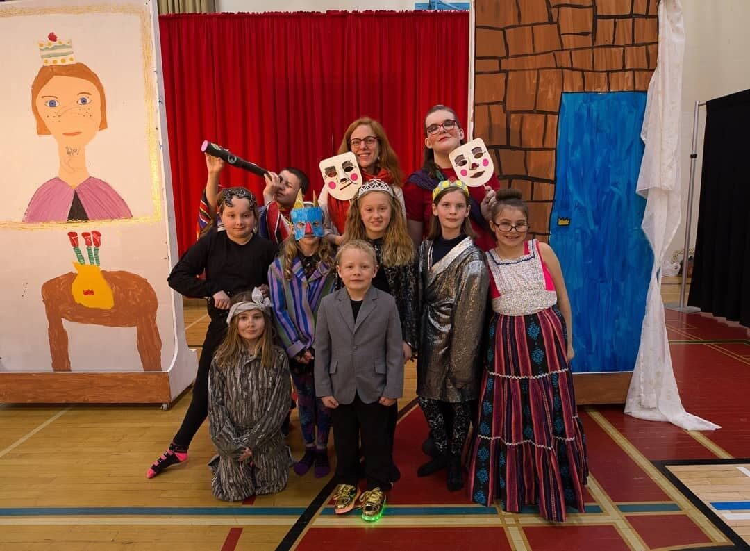 Young actors from Teulon show off what they learned all year