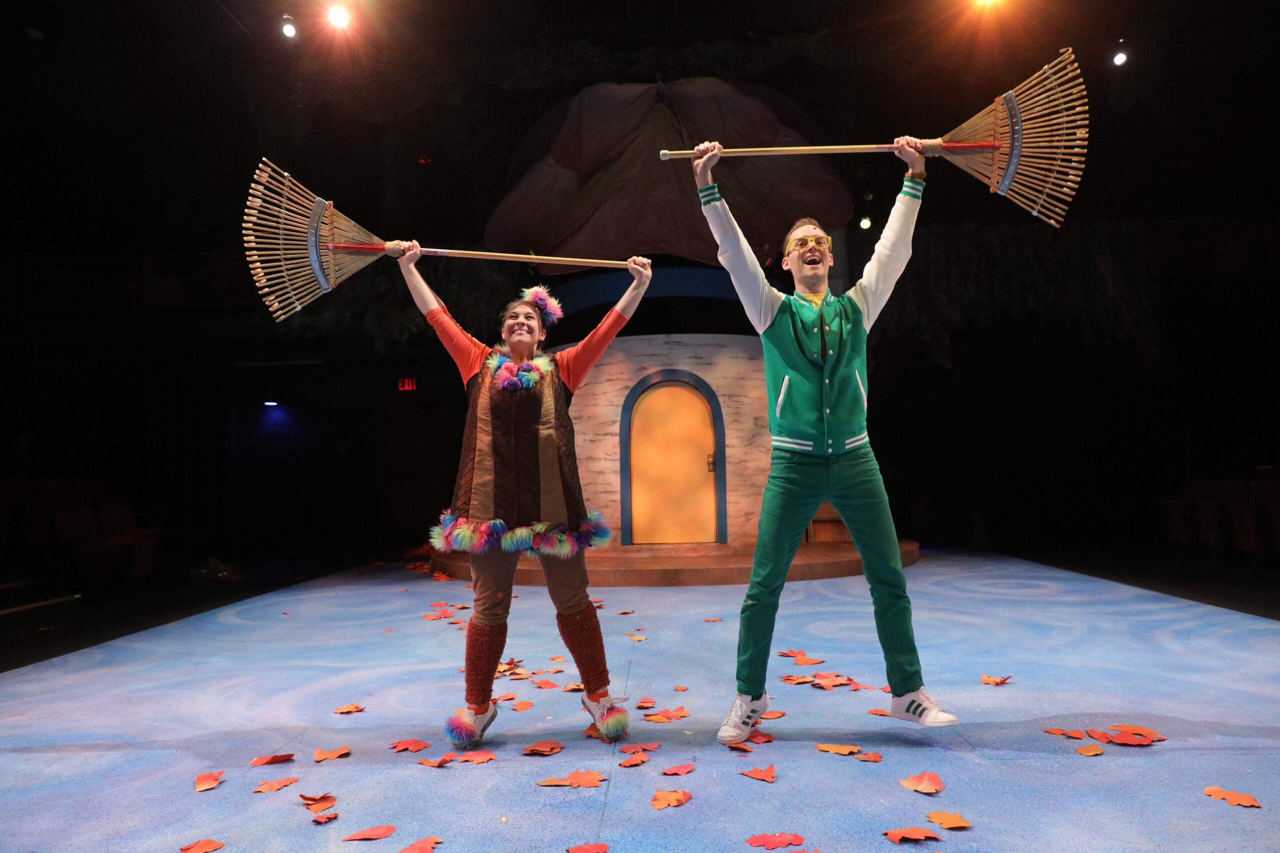 Katie German and Matthew Armet in A Year with Frog and Toad