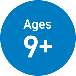 Ages 9 and up